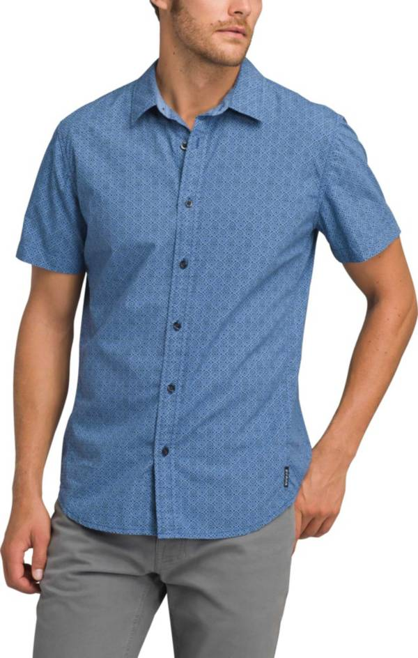 prAna Men's Ulu Short Sleeve Button Up Shirt product image