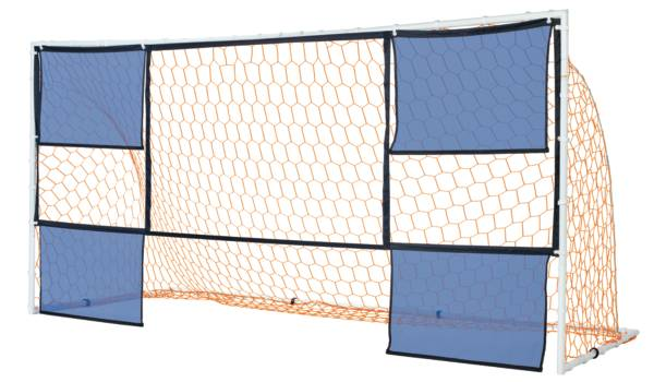 PowerBolt 12 x 6 Steel Soccer Goal With Targets product image
