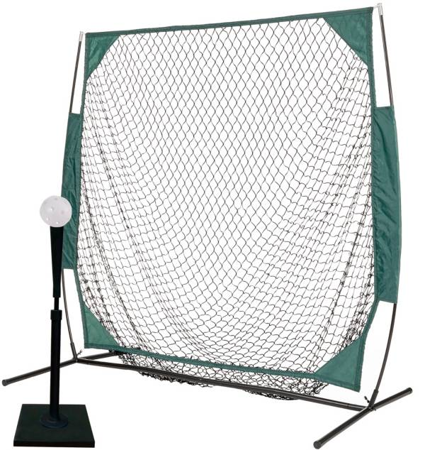 PowerBolt 5' Net w/ Pro Tee and 12 Pack Plastic Training Ball Set product image