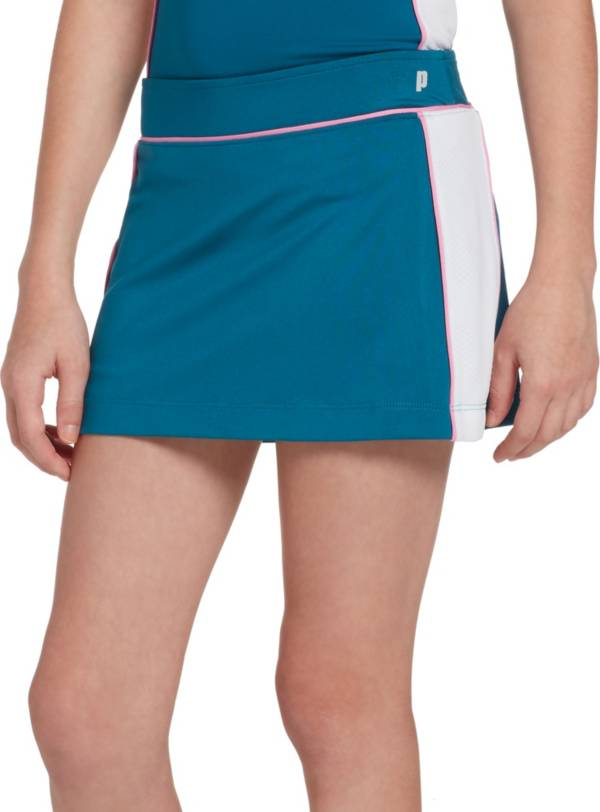 Prince Girls' Piped Match Knit Tennis Skort product image