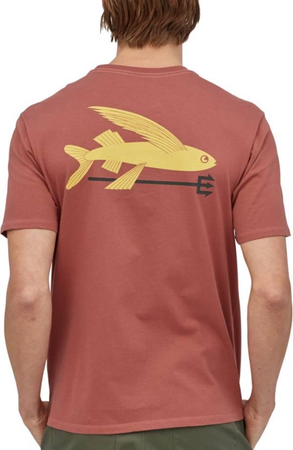 Patagonia Men's Flying Fish Organic Cotton T-Shirt product image