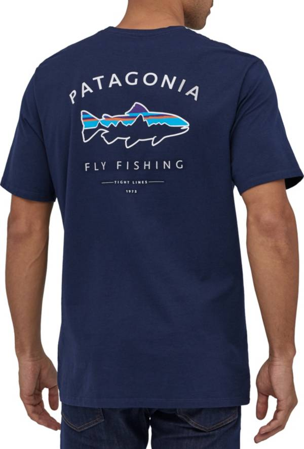 Patagonia Men's Framed Fitz Roy Trout Organic Cotton T-Shirt product image