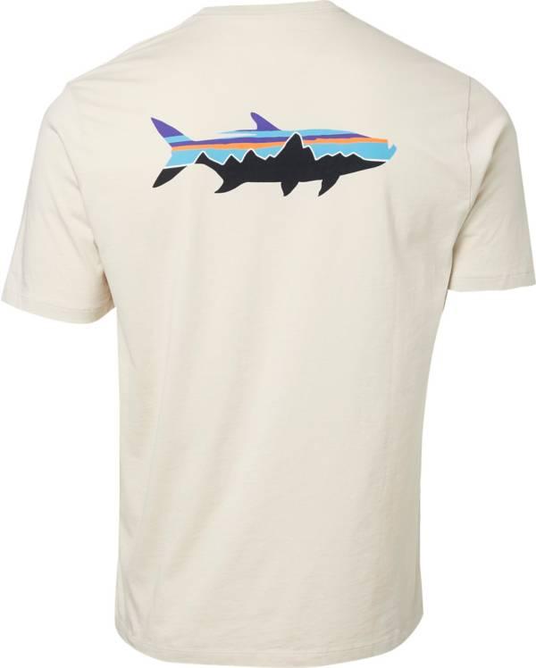 Patagonia Men's Fitz Roy Fish Organic Cotton T-Shirt product image