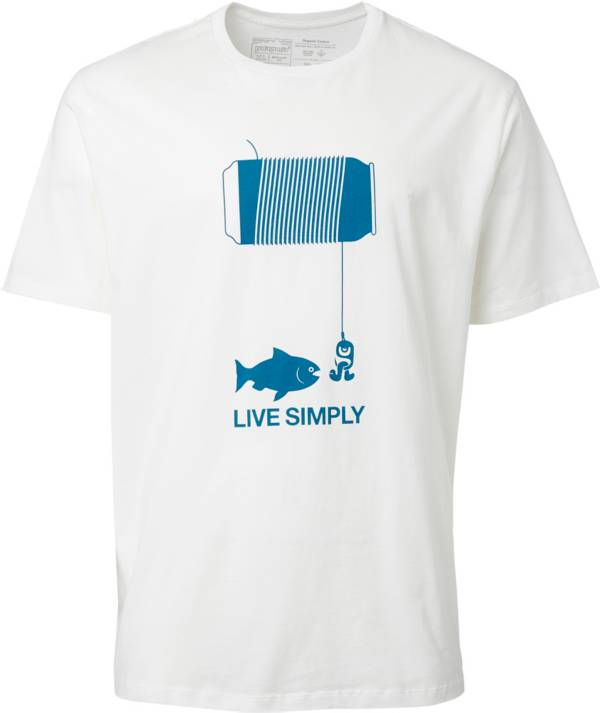 Patagonia Men's Live Simply Happy Hour Organic Cotton T-Shirt product image