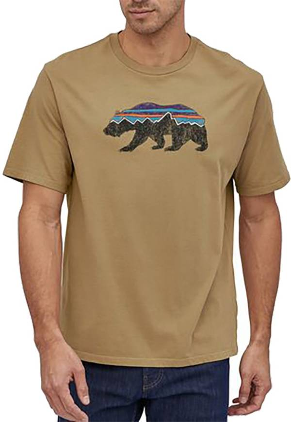 Patagonia Men's Fitz Roy Bear Organic Cotton T-Shirt product image