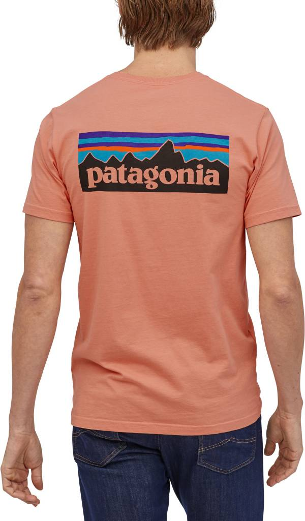 Patagonia Men's P-6 Logo Organic Short Sleeve T-Shirt product image