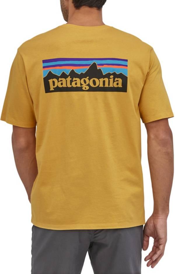 Patagonia Men's P-6 Logo Organic Short Sleeve T-Shirt product image