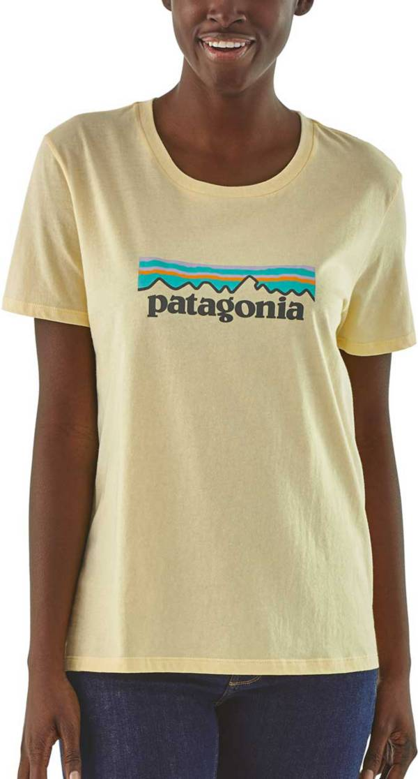 Patagonia Women's Pastel P-6 Logo Organic Crew T-Shirt product image