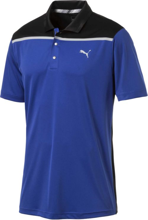 d339c809 PUMA Men's Bonded Colorblock Golf Polo | DICK'S Sporting Goods