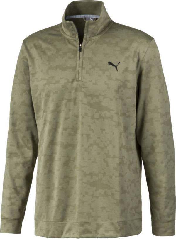 PUMA Men's Alterknit Camo ¼ Zip Golf Pullover product image