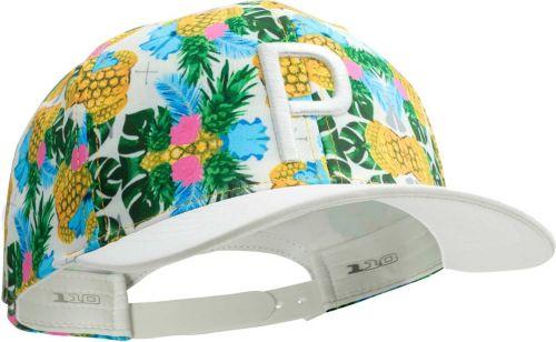 e5ab4be85a508 PUMA Men s Limited Edition Pineapple P 110 Snapback Golf Hat ...