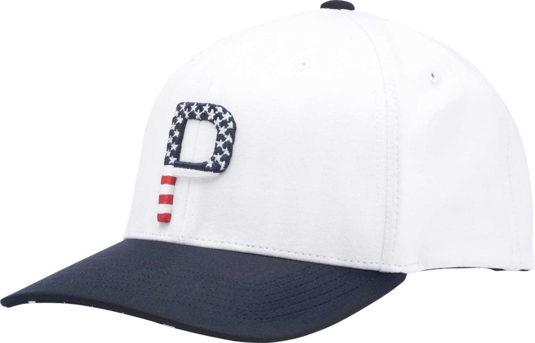 newest 60495 b60d9 PUMA Men s Limited Edition Stars   Stripes P 110 Snapback Golf Hat ...