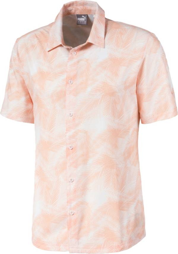 PUMA Men's Palms Button Down Golf Shirt product image