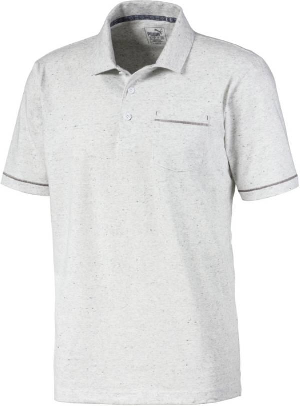 PUMA Men's Slub Short Sleeve Golf Polo product image
