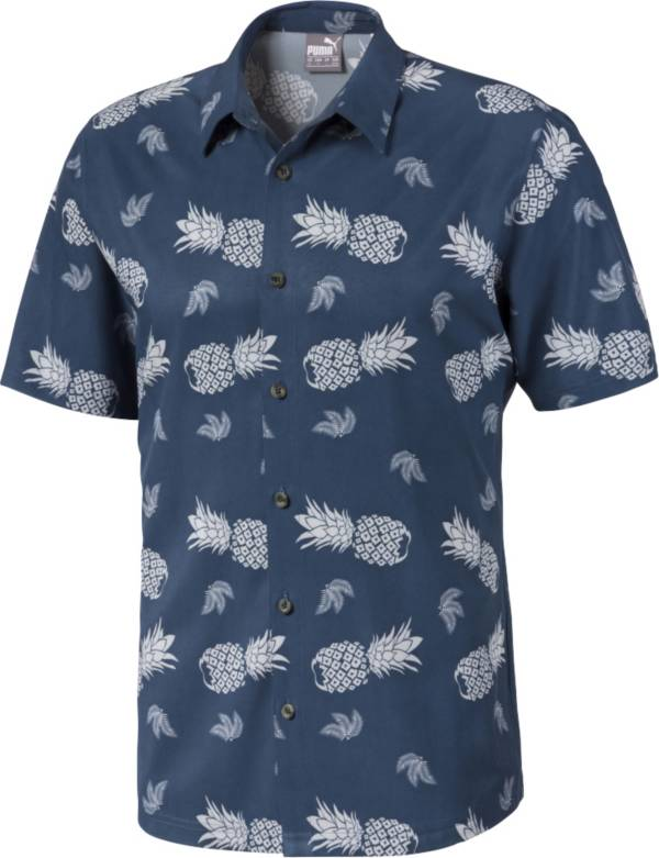 PUMA Men's Islands Button Down Golf Shirt product image