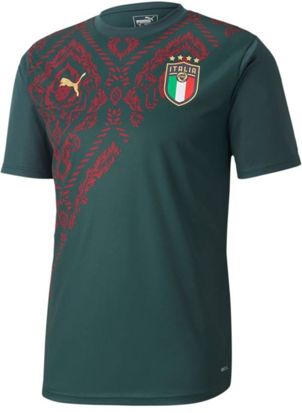 PUMA Men's Italy Prematch Green Jersey product image