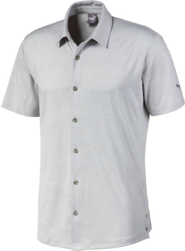 PUMA Men's Easy Living Button Down Golf Shirt product image