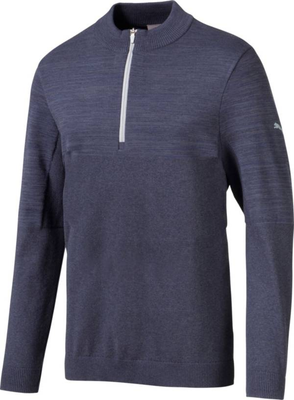 PUMA Men's Evoknit Colorblock ¼ Zip Golf Pullover product image