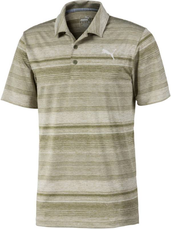 PUMA Men's Variegated Stripe Short Sleeve Golf Polo product image