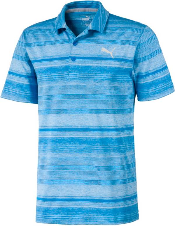 PUMA Men's Variegated Stripe Short Sleeve Golf Polo product image