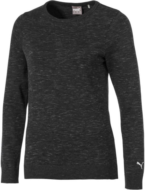 PUMA Women's Crew Neck Long Sleeve Golf Sweater product image