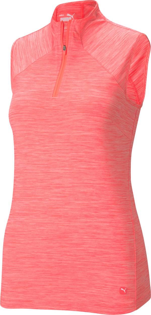 PUMA Women's Daily Mock Sleeveless Golf Polo product image