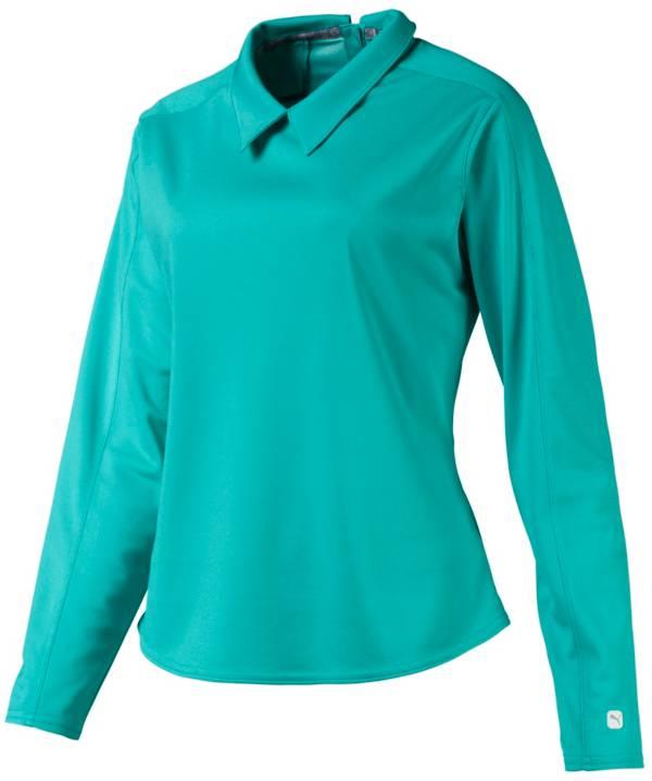 PUMA Women's Long Sleeve Golf Polo product image