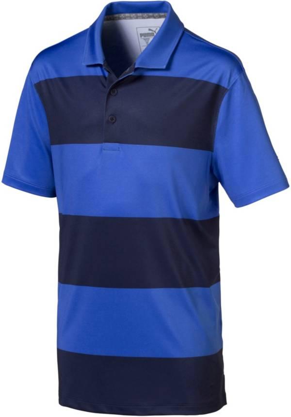 PUMA Boys' Rugby Stripe Golf Polo product image