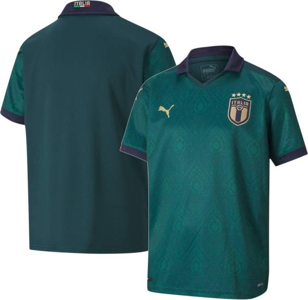 PUMA Youth Italy '19 Stadium Home Replica Jersey product image