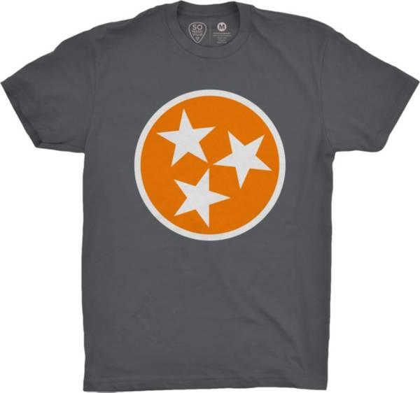 So Nashville Men's Flag Grey T-Shirt product image