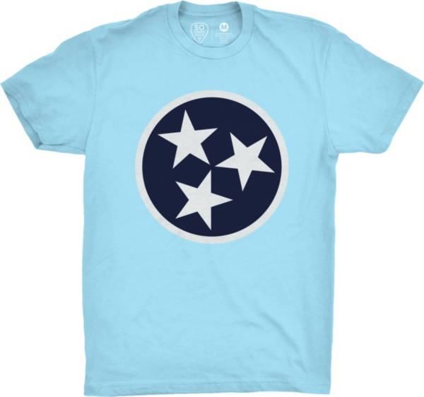 So Nashville Men's Flag Blue T-Shirt product image