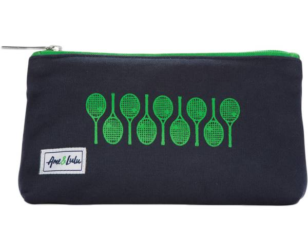 Ame & Lulu Women's Icon Brush It Off Tennis Cosmetic Case product image