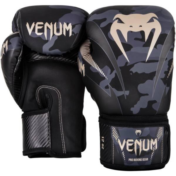 Dark Camo//Black Venum Exclusive Edition Version 1 Boxing Gloves