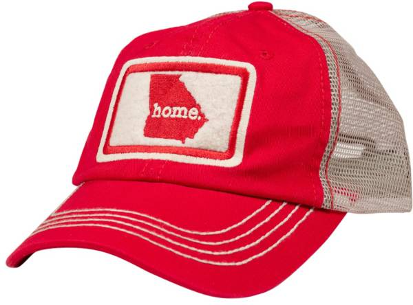 Home State Apparel Adult Georgia Home Trucker Hat product image