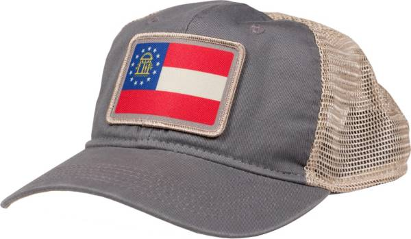 Home State Apparel Adult Georgia State Flag Trucker Hat product image