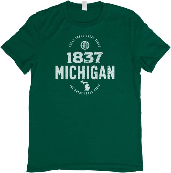Home State Apparel Men's Michigan 1837 T-Shirt product image