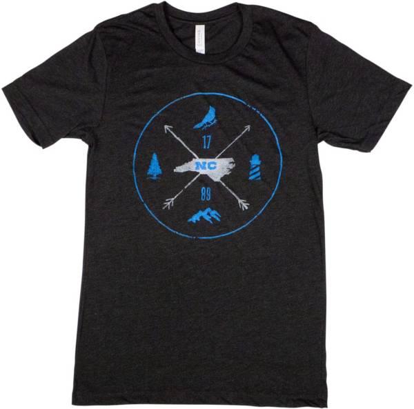 Home State Apparel Men's North Carolina Arrows Short Sleeve T-Shirt product image