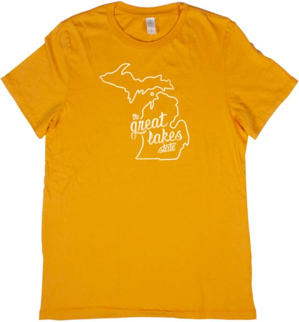 Home State Apparel Women's Michigan Freehand Short Sleeve T-Shirt product image