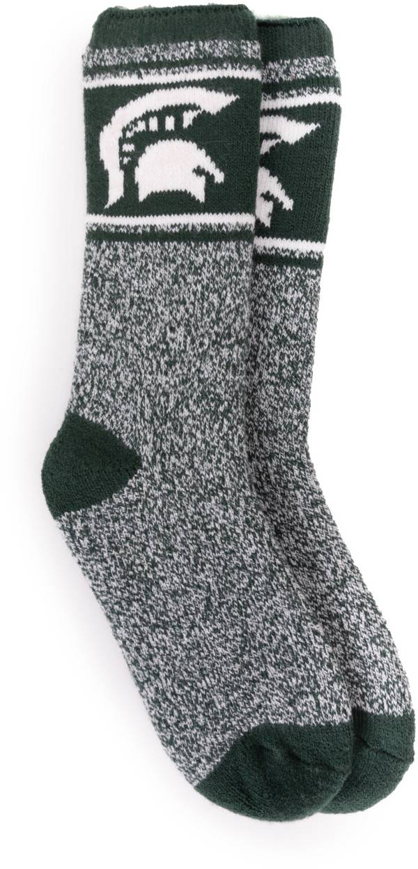 MUK LUKS Game Day Women's Michigan State Spartans Thermal Socks product image