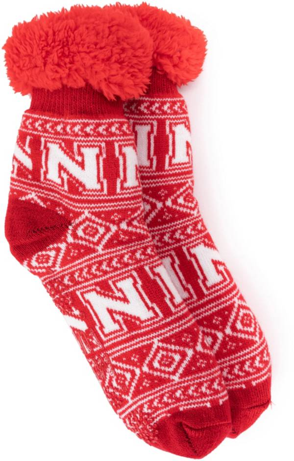 MUK LUKS Game Day Women's Nebraska Cornhuskers Cabin Socks product image