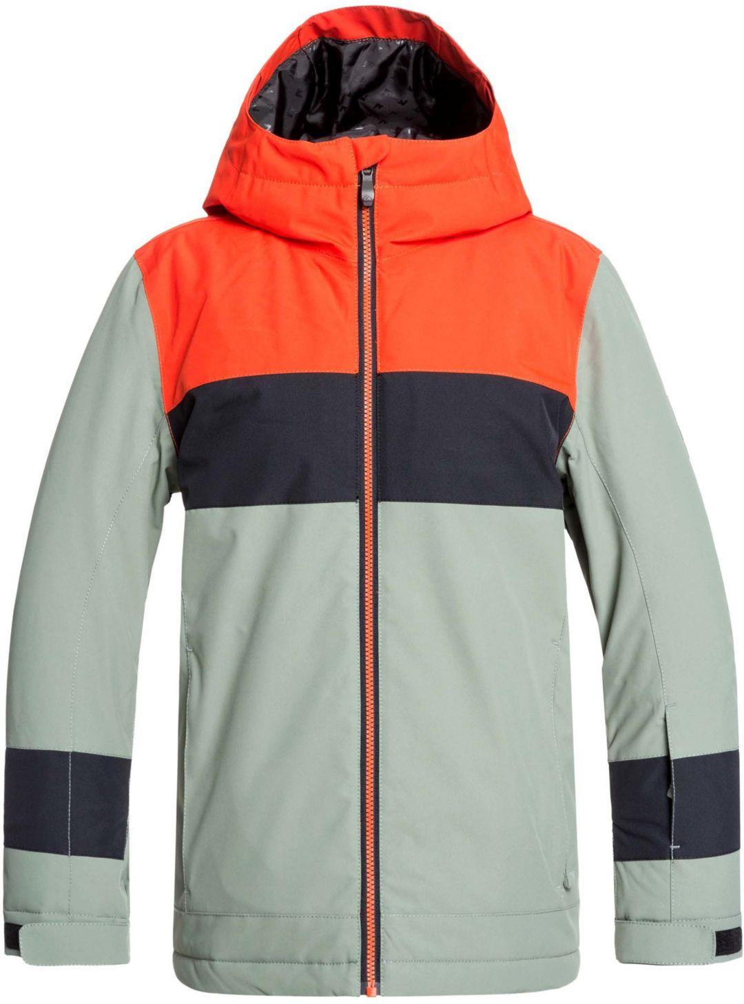 8c6a7d57e Quiksilver Boys' Sycamore Insulated Snow Jacket