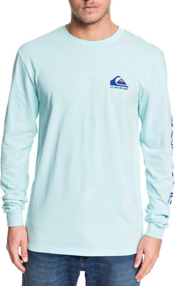 Quiksilver Men's Omni Logo Long Sleeve Shirt product image