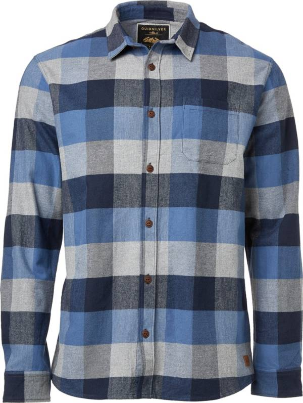 Quiksilver Men's Stretch Flannel Long Sleeve Shirt product image