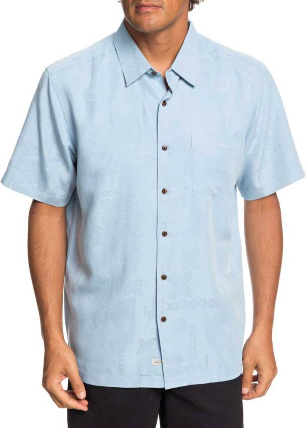 Quiksilver Men's Waterman Kelpies Bay Short Sleeve Button Up Shirt product image