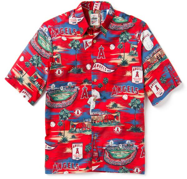 Reyn Spooner Men's Los Angeles Angels Scenic Button-Down Shirt product image