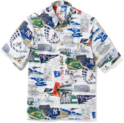 58e77780 Reyn Spooner Men's New York Yankees Scenic Button-Down Shirt. noImageFound.  Previous