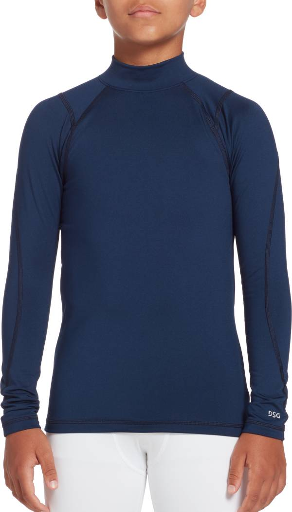 DSG Boys' Cold Weather Compression Mock Neck Long Sleeve Shirt product image