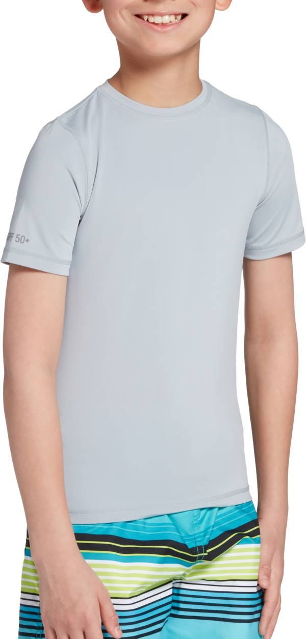 DSG Boys' Greyson Short Sleeve Rash Guard product image