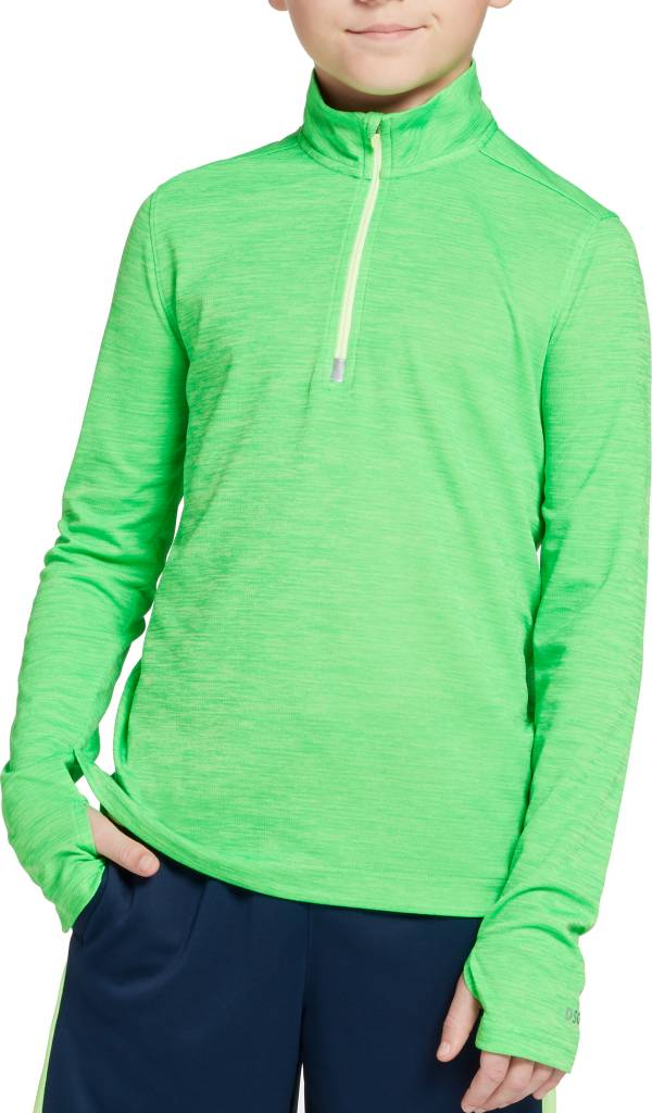 DSG Boys' Run 1/2 Zip Long Sleeve Shirt product image