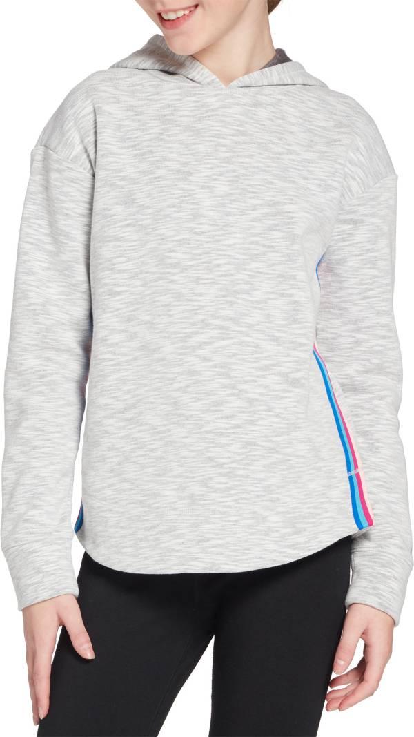 DSG Girls' Cotton Fleece Curved Hem Hoodie product image